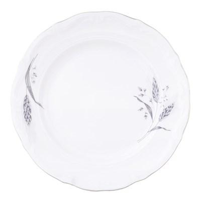 Набор плоских тарелок 19 см Repast Серебряные колосья (6 шт) - фото 57651
