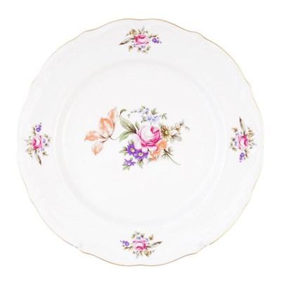 Набор тарелок плоских 25 см Repast Мейсенский букет( 6 шт) - фото 58665