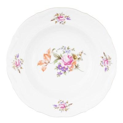 Набор тарелок глубоких 22.5 см Repast Мейсенский букет (6 шт) - фото 58895