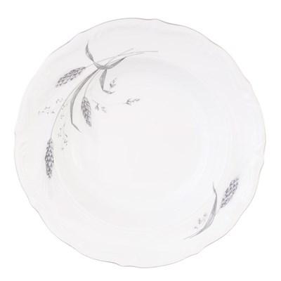 Набор глубоких тарелок 22.5 см Repast Серебряные колосья (6 шт) - фото 59270