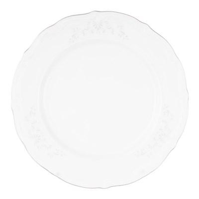 Набор плоских тарелок 25 см Repast Свадебный узор (6 шт) - фото 61291