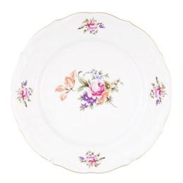 Тарелка плоская Repast Мейсенский букет 25 см (1 шт)