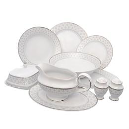 Столовый набор Repast Серебряная сетка (25 предметов на 6 персон)
