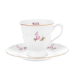 Набор чайных пар Repast Мейсенский букет (6 пар) 200 мл
