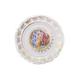 Набор тарелок Repast Мадонна перламутр Мария-тереза 25 см (6 шт)