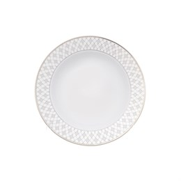 Набор глубоких тарелок Repast Серебряная сетка 22.5 см (6 шт)
