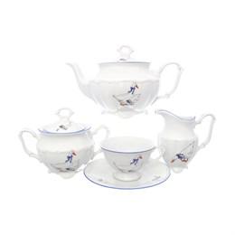 Чайный набор Гуси Repast классическая чашка (15 предметов на 6 персон)