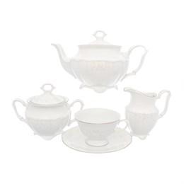 Чайный набор Свадебный узор Repast классическая чашка (15 предметов на 6 персон)